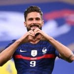 Olivier Giroud shines for France in victory over Bulgaria