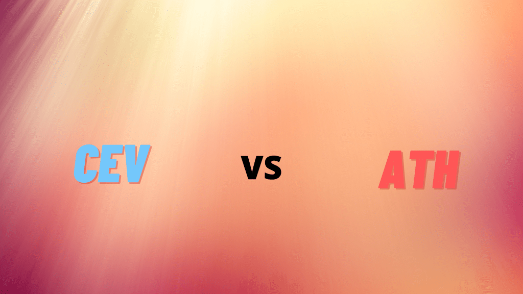 CEV vs ATH