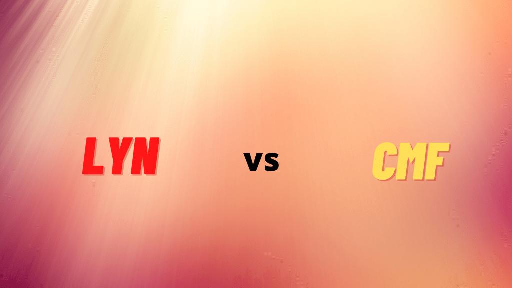 LYN vs CMF