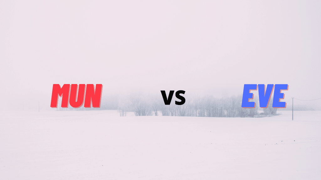 MUN vs EVE Club Friendlies